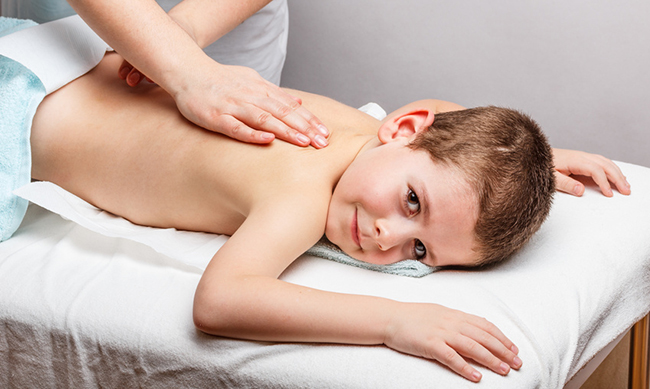 Kindermassage